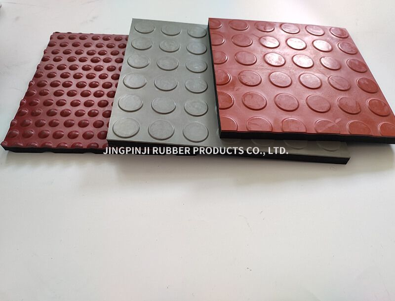 Rubber board for overpass