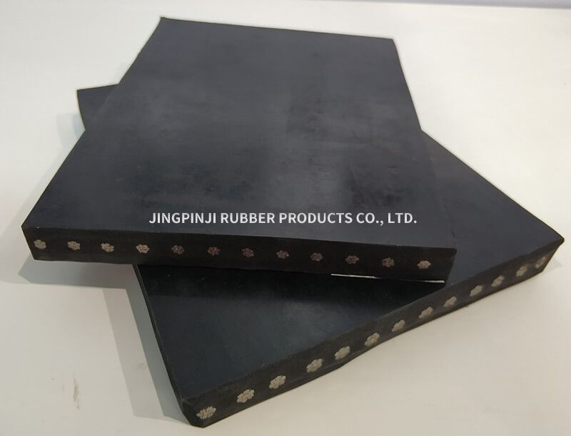 Steel wire rubber plate