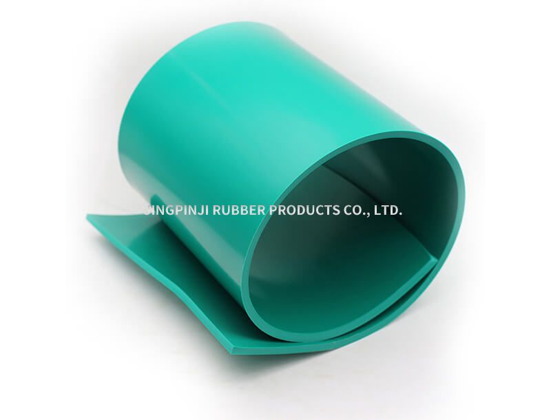 Green acid and alkali resistant rubber board