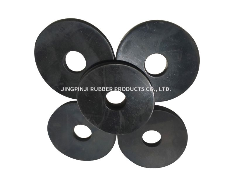 Customized anisotropic rubber sheet